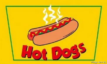 Hot Dogs  (Yellow)